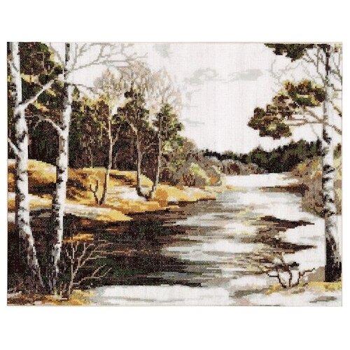 Купить Hobby & Pro Набор для вышивания Весна 37 х 28 см (738), Наборы для вышивания