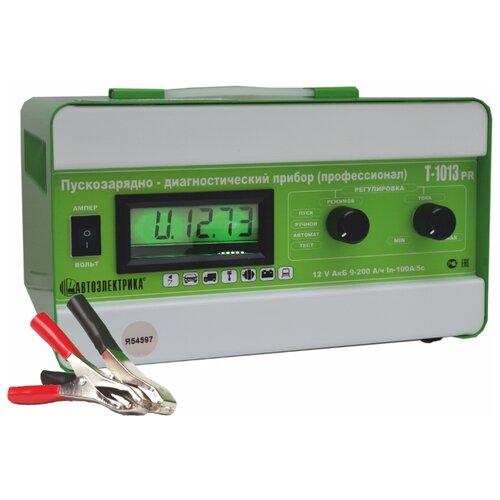 Пуско-зарядное устройство Автоэлектрика Т-1013Р зеленый зарядное