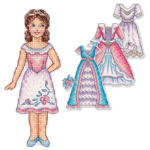 Купить Набор для вышивания PANNA IG-7169 Принцесса , Наборы для вышивания