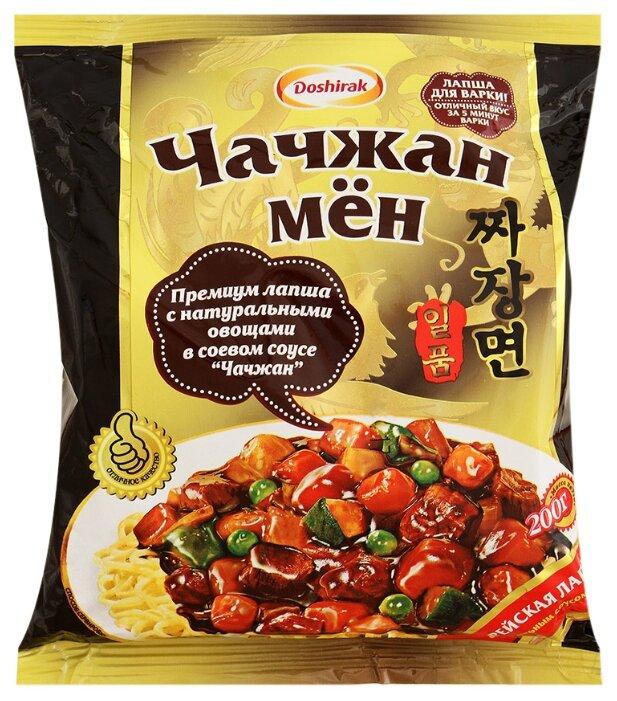 Doshirak Лапша Чачжан Мён корейская с оригинальным соусом Чачжан 200 г