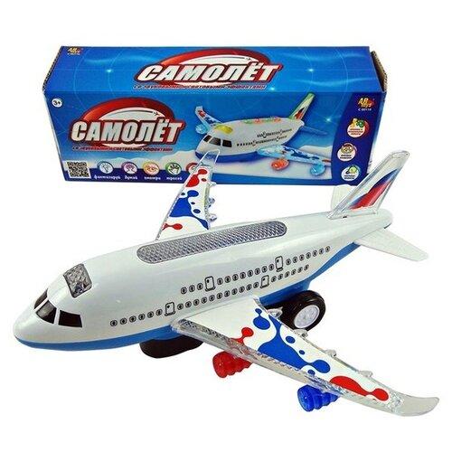 Самолет ABtoys C-00381 белый самолет планер abtoys в ассортименте
