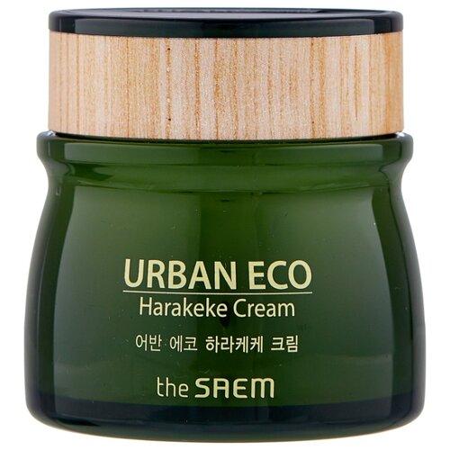 The Saem Urban Eco Harakeke Cream Увлажняющий крем для лица с экстрактом новозеландского льна, 60 мл глубоко увлажняющий крем с экстрактом новозеландского льна the saem urban eco harakeke root deep cream