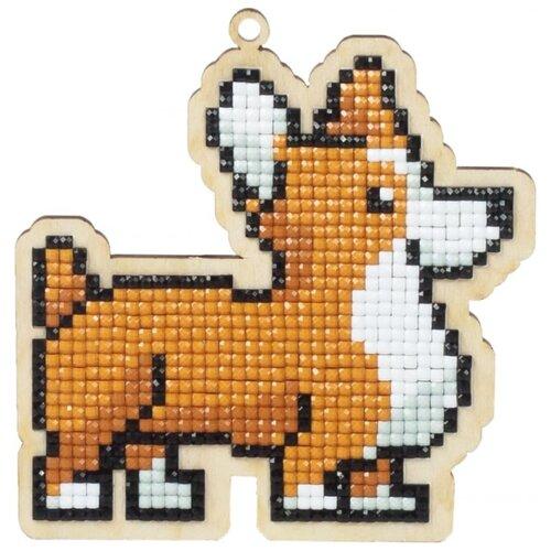 Гранни Набор алмазной вышивки Собака Рокки (W0106) 9,7x10,3 смАлмазная вышивка<br>