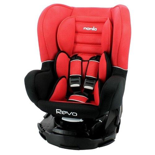 Автокресло группа 0/1/2 (до 25 кг) Nania Revo Luxe, red автокресло группа 1 2 3 9 36 кг little car ally с перфорацией черный