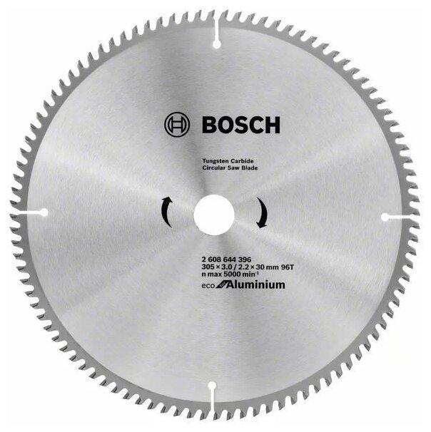 Пильный диск BOSCH Eco for Aluminium 2608644396 305х30 мм