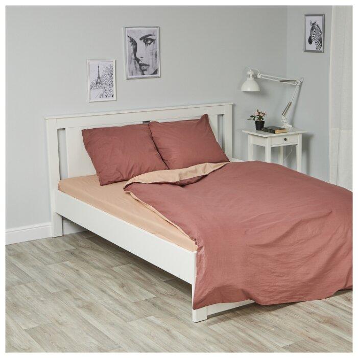 Комплект постельного белья «Василиса», поплин, 1,5-спальный, коричневый, наволочки 70x70 см, 2 шт., диз. 361