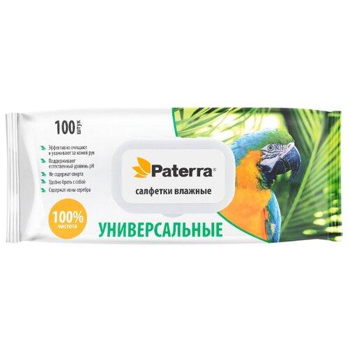 Влажные салфетки Paterra Универсальные, 100 шт.