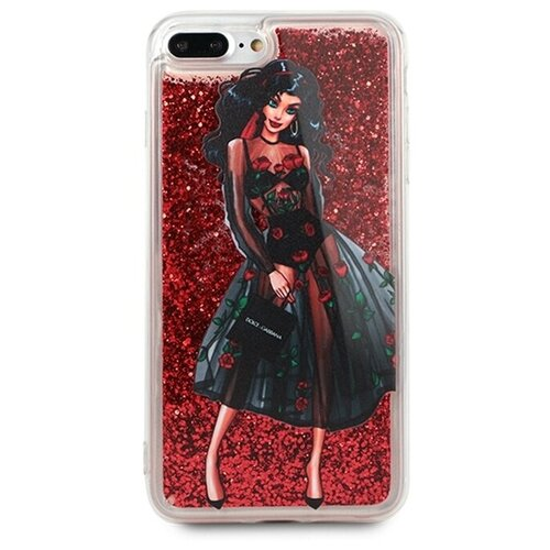 Чехол Pastila Life Style для Apple iPhone 7 Plus/iPhone 8 Plus Flower dress plus size plaid pockets long sleeve dress