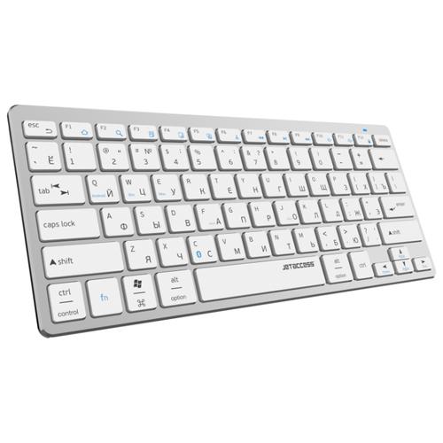 Ультракомпактная bluetooth-клавиатура с аккумулятором SLIM LINE K4 BT металлик