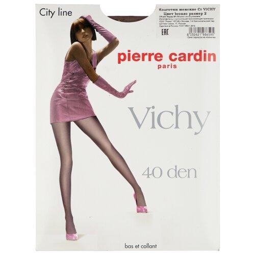 Колготки Pierre Cardin Vichy, City Line 40 den, размер II-S, bronzo (коричневый)