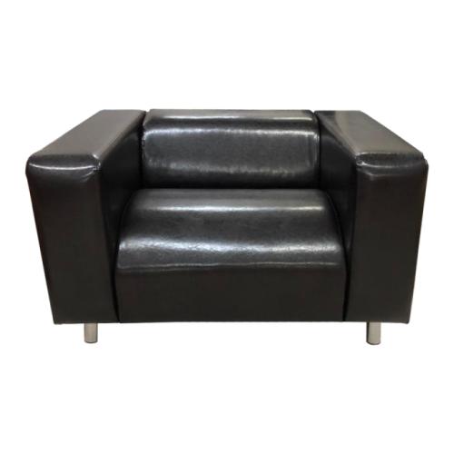 Кресло, Мягкий офис, Офис Комфорт Экокожа, темно-коричневый