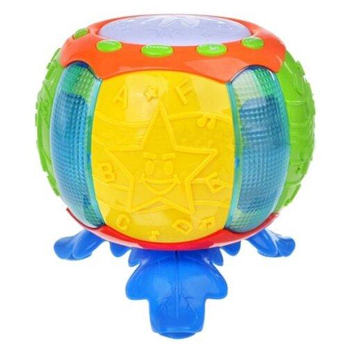 Купить Play Smart барабан Б45636 желтый/зеленый/голубой/оранжевый, Детские музыкальные инструменты