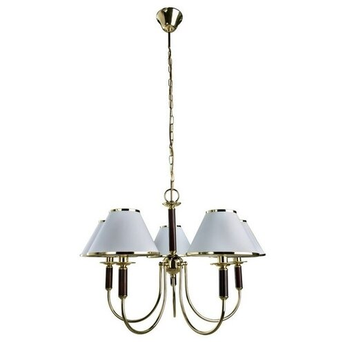 Люстра Arte Lamp Cathrine A3545LM-5GO, E14, 300 Вт