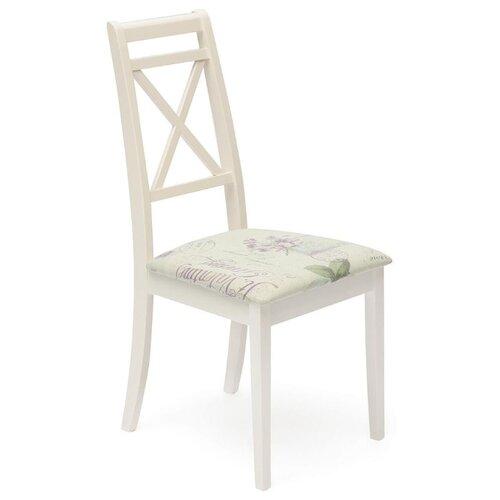 Комплект стульев TetChair Picasso (PC-SC), дерево/текстиль, 2 шт., цвет: ivory white