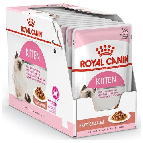 Корм для котят Royal Canin Instinctive мясное ассорти 24шт. х 85 г (кусочки в соусе) cat wet food royal canin kitten sterilized kitches for kittens pieces in sauce 24 85 g