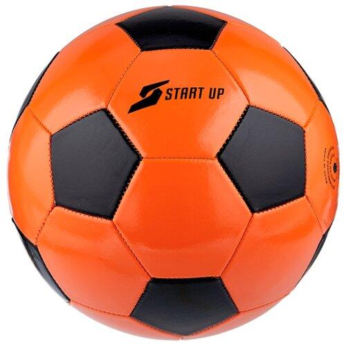 Футбольный мяч START UP E5122 оранжевый/черный 5 цена 2017