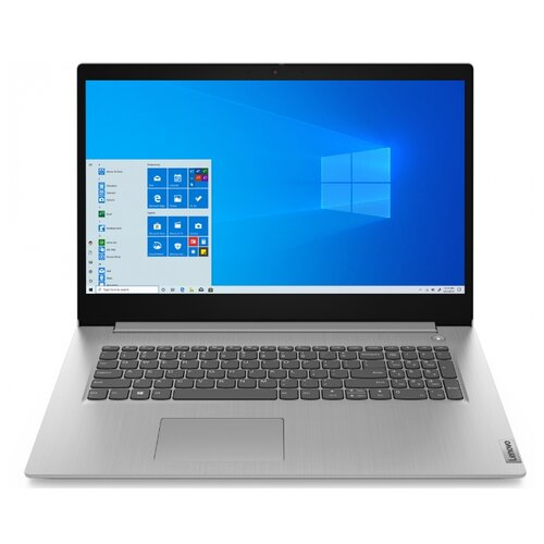 Купить Ноутбук Lenovo IdeaPad 3 17IML05 (Intel Core i3 10110U 2100MHz/17.3 /1920x1080/8GB/128GB SSD/1000GB HDD/DVD нет/Intel UHD Graphics/Wi-Fi/Bluetooth/Windows 10 Home) 81WC000LRU Platinum Grey