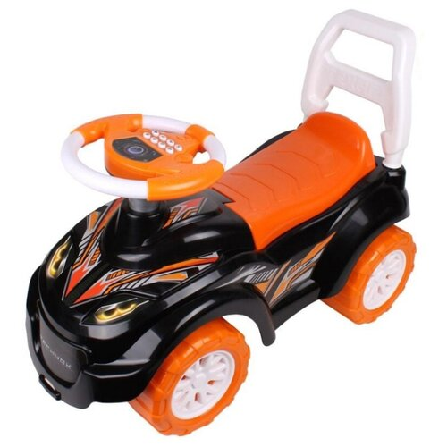 Фото - Каталка-толокар ТехноК Автомобиль для прогулок (6672) оранжевый каталки технок автомобиль для прогулок т6665