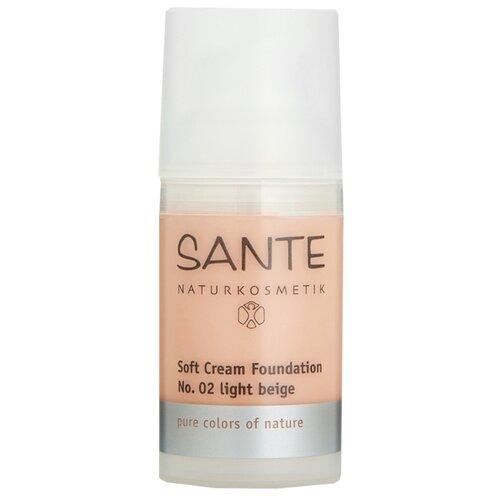 Sante Naturkosmetik Тональный крем Soft Cream Foundation, 30 мл, оттенок: №02 light beige