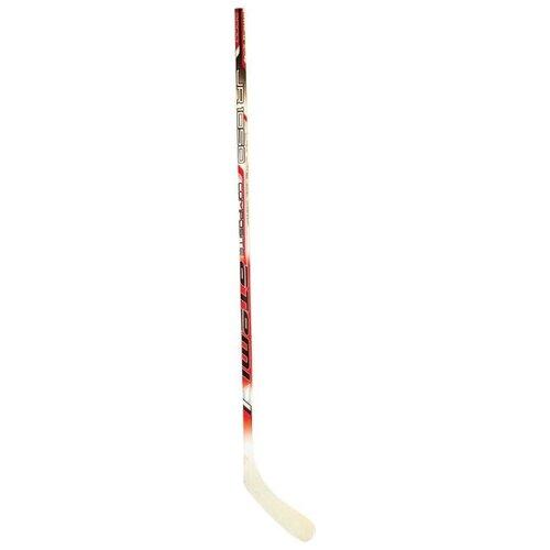 Хоккейная клюшка ATEMI 1050 composite 130 см правый красный/бежевый хоккейная клюшка tisa detroit 152 см левый черный