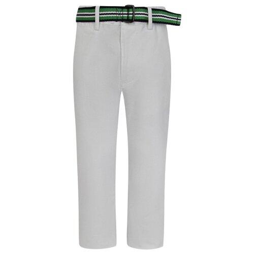 Купить Брюки Ralph Lauren 32173696400 размер 92, белый, Брюки и шорты