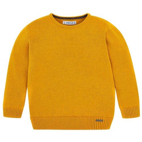 Джемпер Mayoral размер 116, оранжевый-желтый