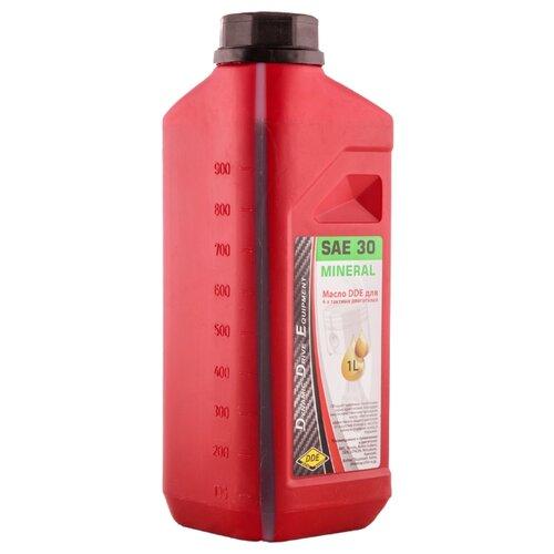 Фото - Масло для садовой техники DDE SAE 30 1 л масло для садовой техники калибр 2t 1 л
