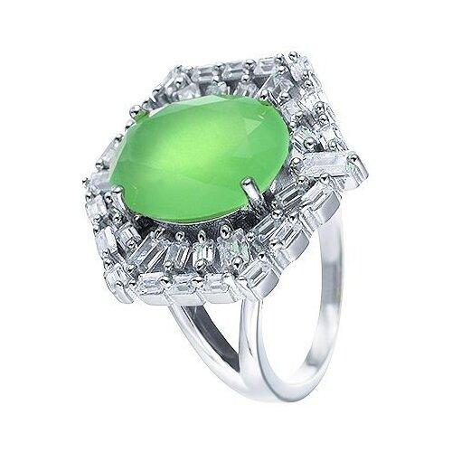 JV Кольцо с фианитами из серебра SY-355424-R-003-WG, размер 18.5 jv кольцо с фианитами из серебра sy 355491 r 003 wg размер 18 5
