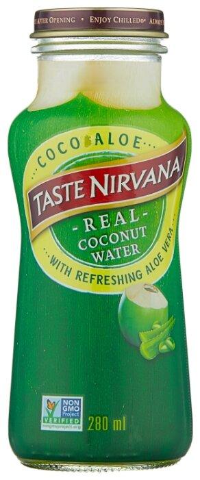 Вода кокосовая Taste Nirvana с мякотью алоэ вера