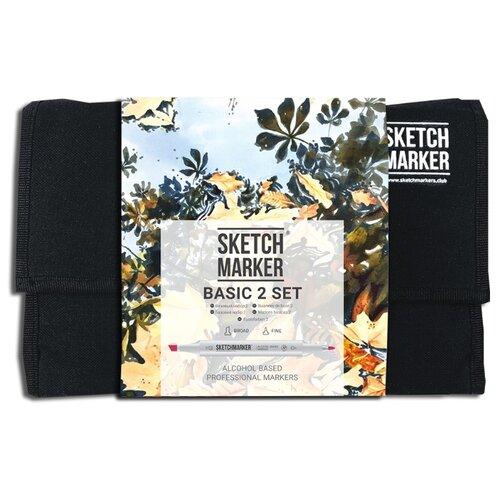 Купить SketchMarker Набор маркеров Basic Set 2, 24 шт., Фломастеры и маркеры