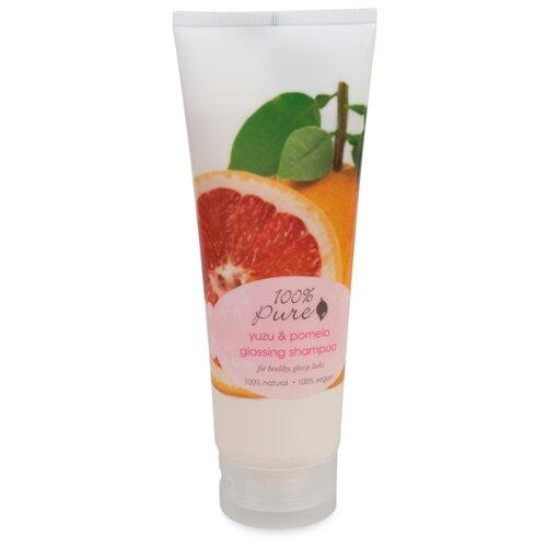 100% Pure шампунь Yuzu & Pomelo glossing для блеска волос 236 мл
