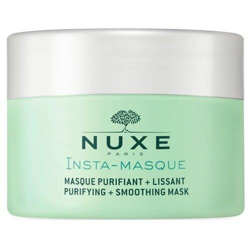 Фото - Nuxe Маска Insta-Masque очищающая разглаживающая, 50 мл нюкс очищающая разглаживающая маска для лица insta masque 50 мл