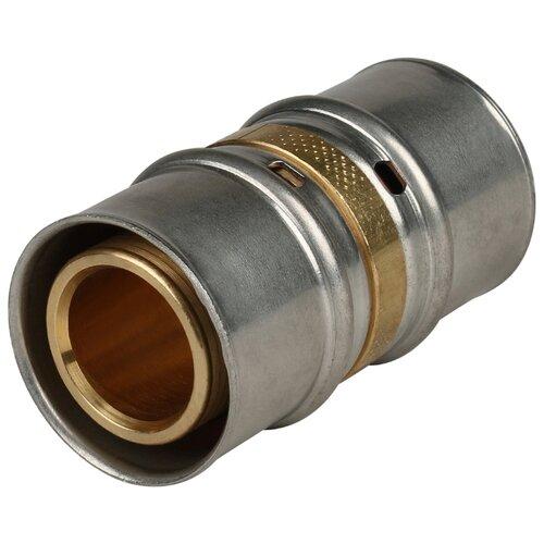 Фото - Муфта STOUT SFP-0003-003232 32x32 пресс 1 шт. муфта соединительная равнопроходная stout sfp 0003 002626 26х26 мм для металлопластиковых труб прессовая