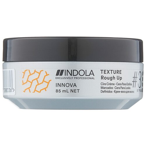 Indola Крем-воск INNOVA TEXTURE #3 Style Rough Up 85 мл indola professional innova texture rough up крем воск для волос 85 мл