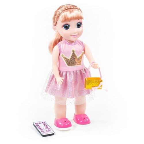 Купить Интерактивная кукла Полесье Милана на вечеринке, 37 см, 79343, Куклы и пупсы