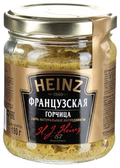 Аджика, горчица, уксус, хрен Горчица французская Heinz 180г