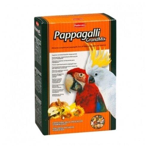 Padovan корм Grandmix Pappagalli для крупных попугаев 600 г