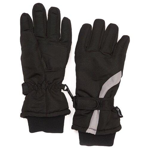 Перчатки Oldos размер 9-10, черный/серый варежки oldos размер 9 10 серый меланж