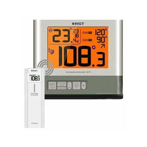 Термометр RST 77110 серый / серебристый