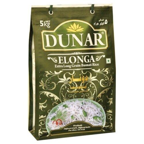 Рис Dunar Басмати Elonga длиннозерный шлифованный 5 кг недорого