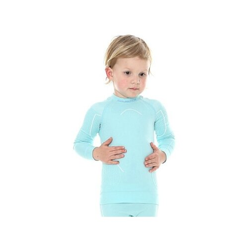 Лонгслив Brubeck Thermo body guard LS13670, размер 116-122, светло-голубой