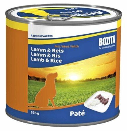 Корм для собак Bozita ягненок с рисом 635г