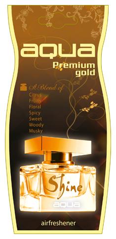 Aqua Ароматизатор для автомобиля Premium Gold Drop