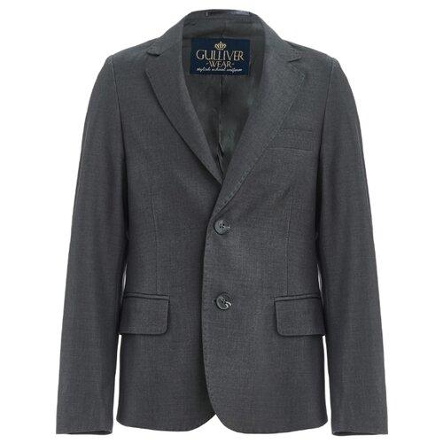 Пиджак Gulliver размер 122, серый туника gulliver размер 122 серый