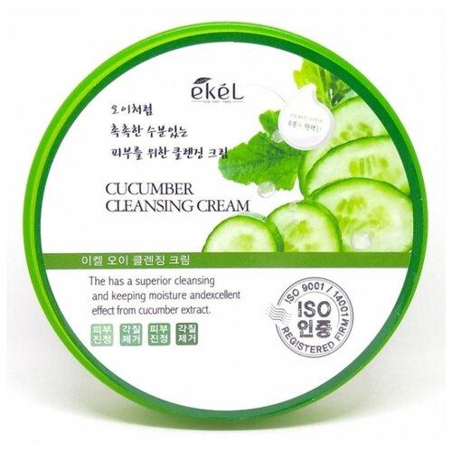 Ekel крем для лица очищающий с экстрактом огурца Cucumber Cleansing Cream, 300 мл недорого
