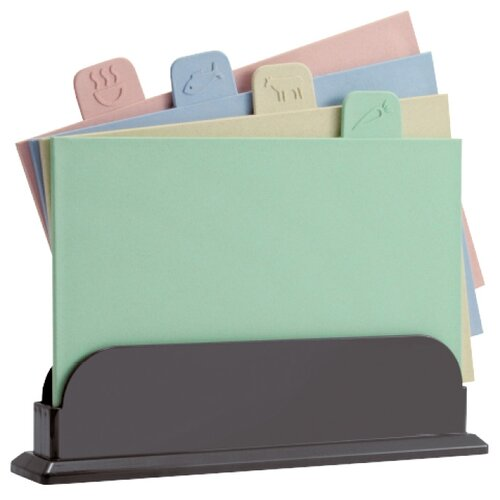 Набор разделочных досок Göttingen CB-004 29х19.5 см (4 шт.) розовый/голубой/бежевый/зеленый
