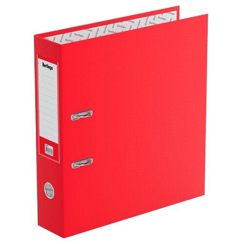 Berlingo Папка-регистратор с карманом на корешке Standard А4, бумвинил, 70 мм красный berlingo папка регистратор с карманом на корешке standard а4 бумвинил 70 мм красный