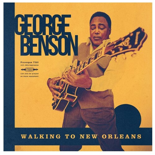 George Benson. Walking To New Orleans (LP) george benson birmingham