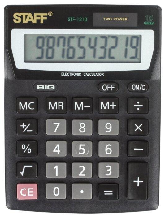 Калькулятор бухгалтерский STAFF STF-1210