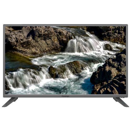 Телевизор Prestigio 32 Muze 32 (2019) серебристый аксессуар защитное стекло для prestigio 7510 muze c7 lte luxcase 0 33mm 82362